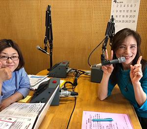 コーチングをレッスンや人生に活かして・・かろやかな美声ミユキさんラジオ出演