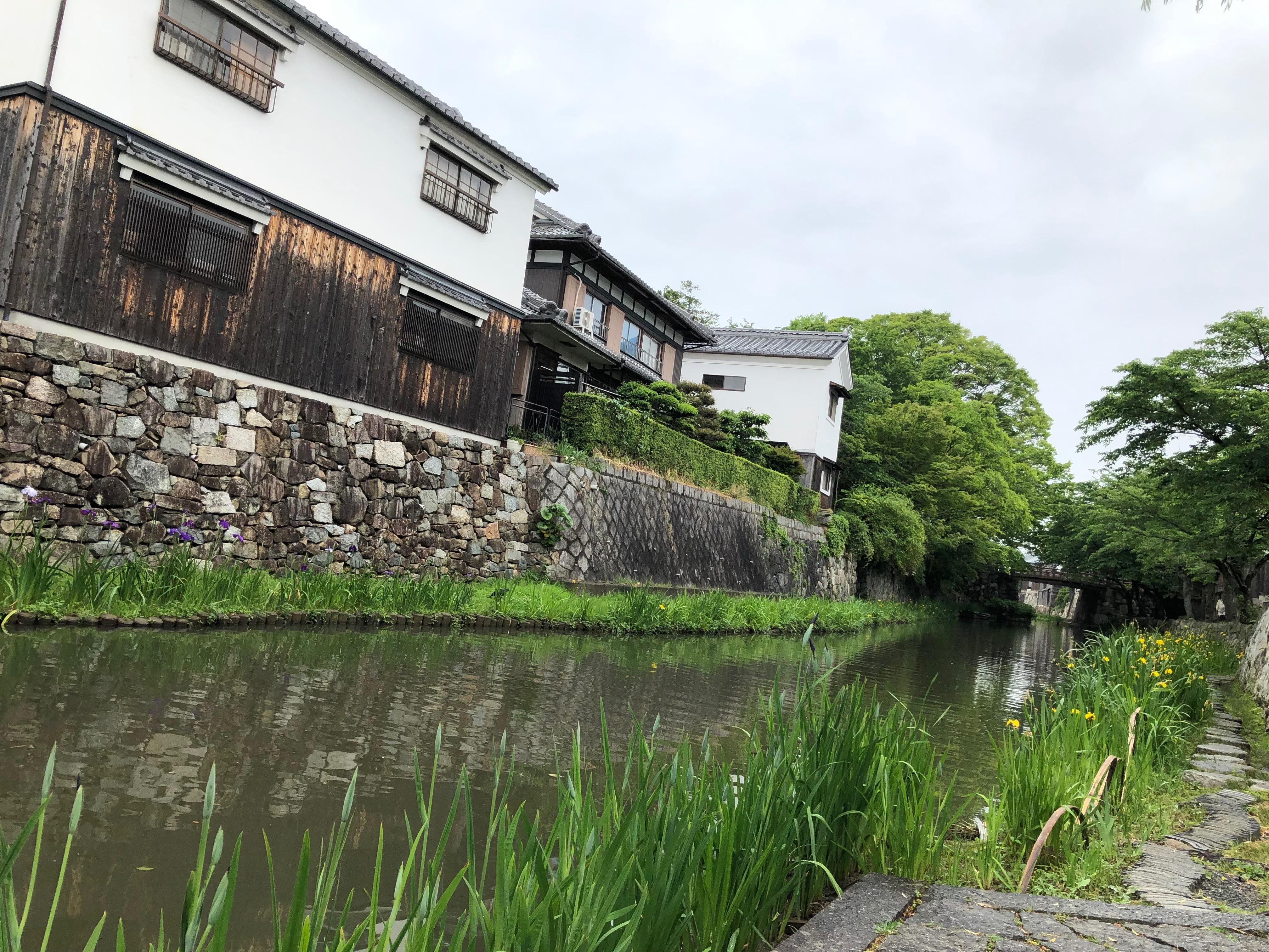 吉方旅行で近江八幡へ