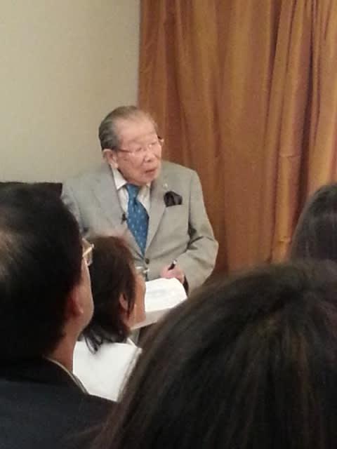 もうすぐ102歳、クレッシェンドの人生を生きる日野原先生のNY講演会