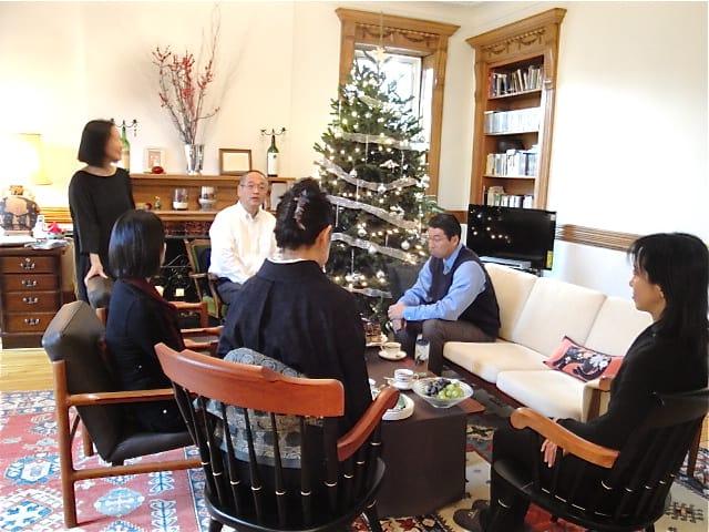 NY式部会〜京友禅作家、野村直樹先生をお迎えして〜