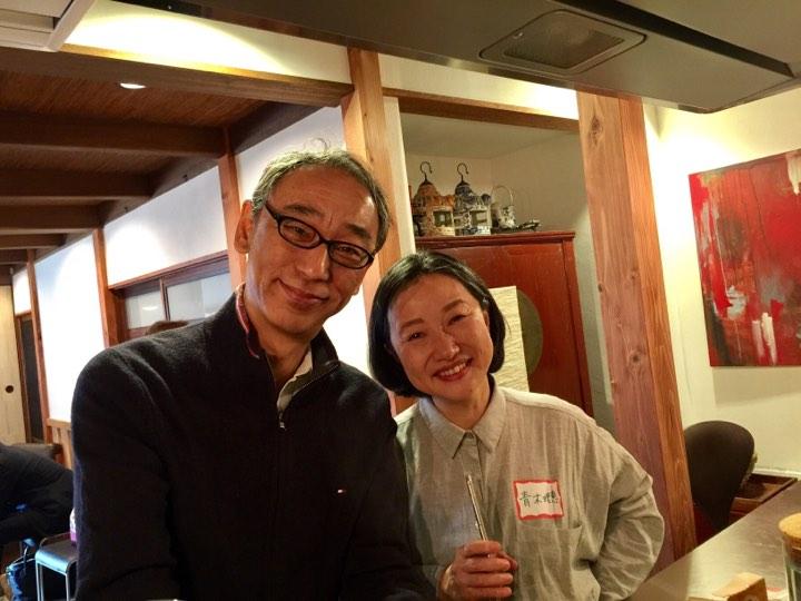 青木理恵×福島規久夫のコーチング実践練習会のテストでした
