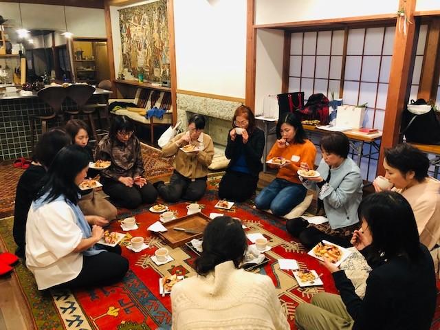 青木山荘のクリスマスパーティ