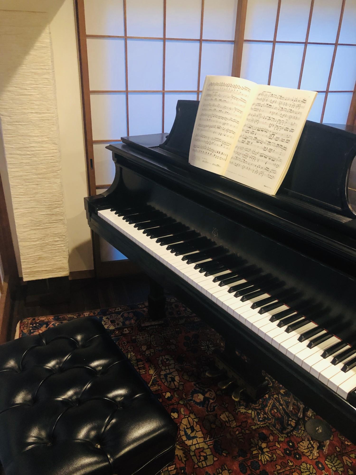セッションを受けて、ピアノを弾きたくなりました。