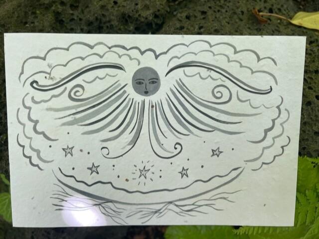 ハルカが作ったMoon Card